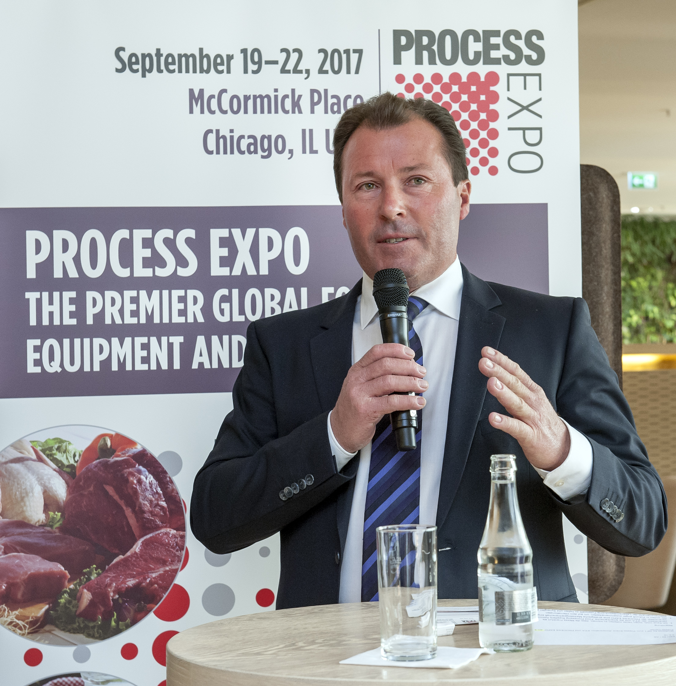 Process Expo: Wolfgang Marzin (President and Chief Executive Officer (CEO) of Messe Frankfurt GmbH)