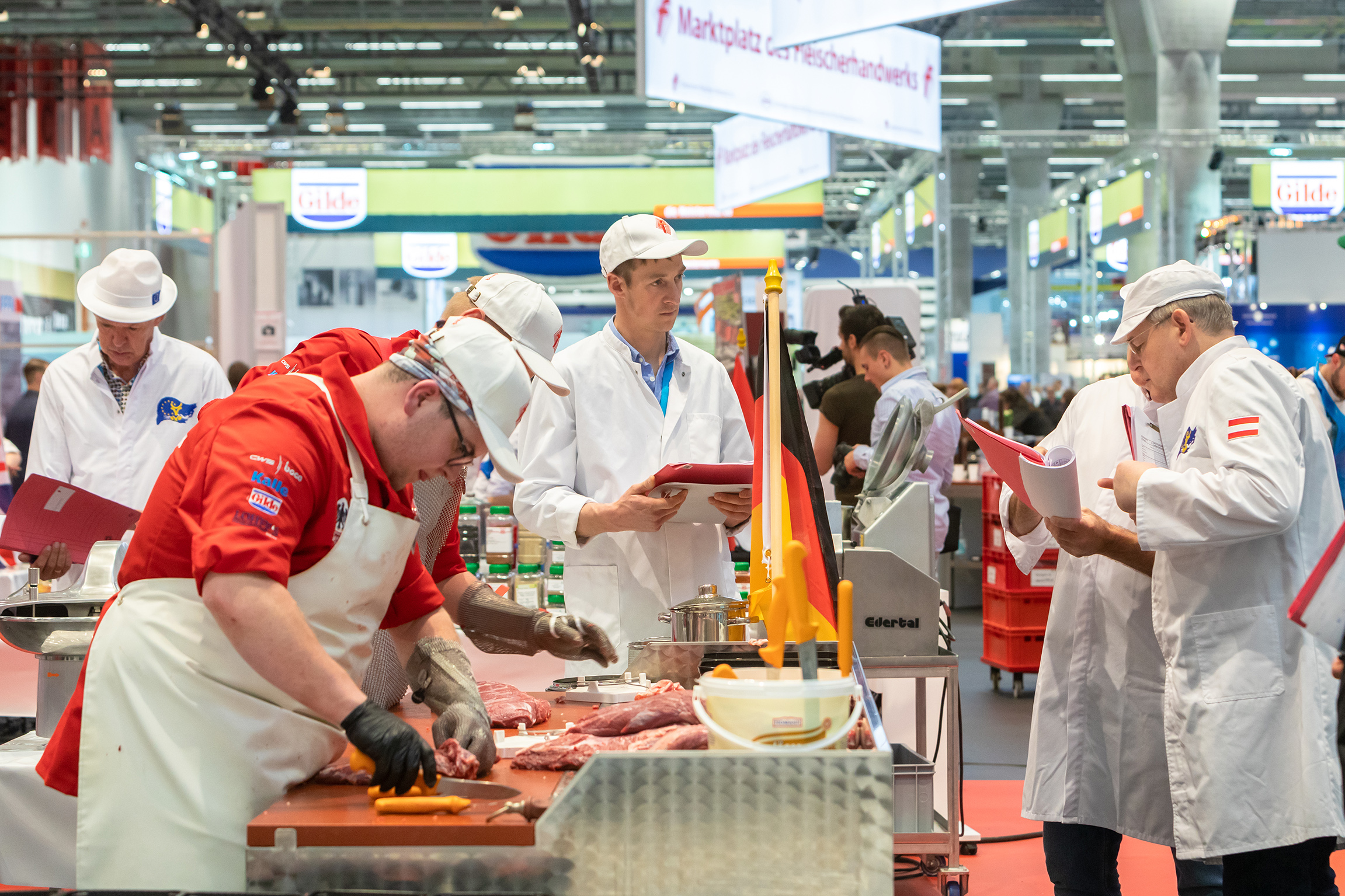 Competitions: International competition of the young butchers