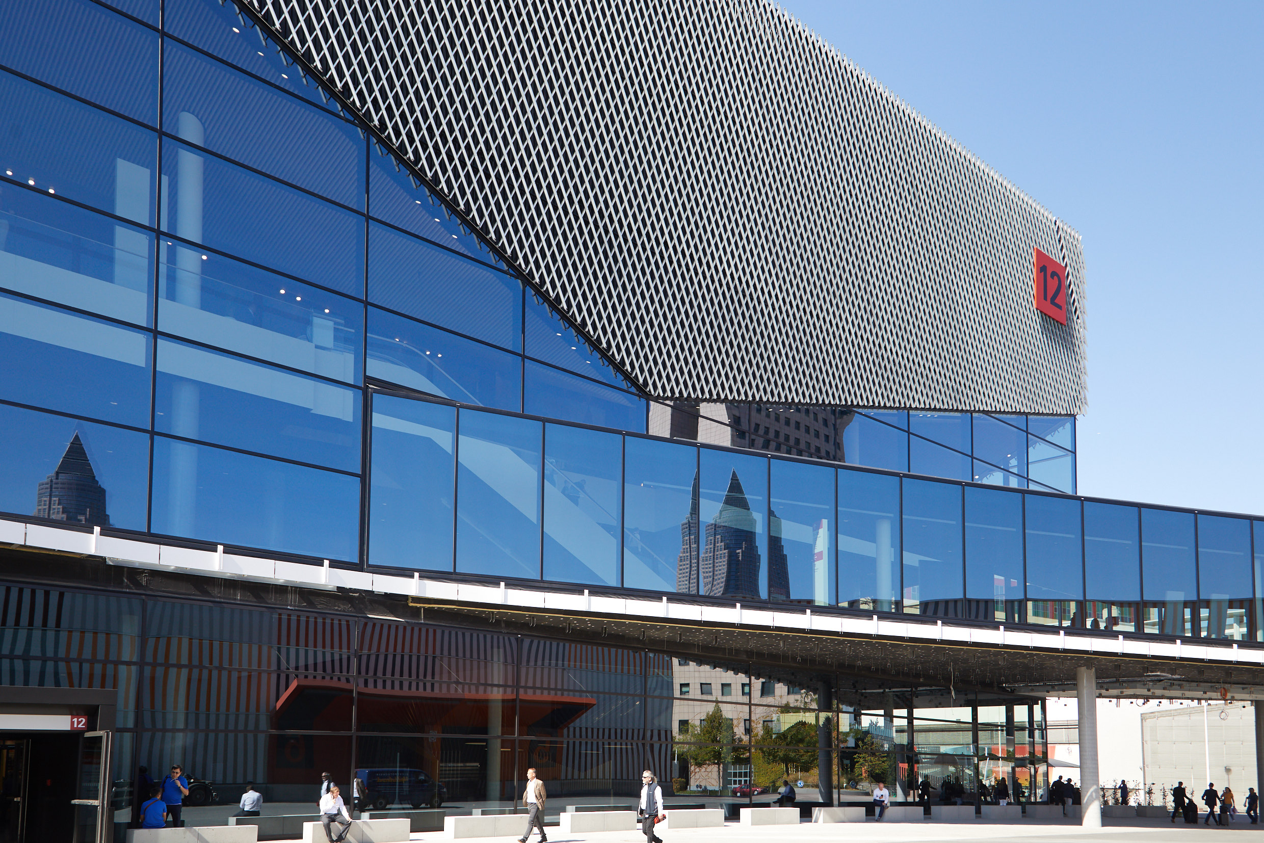 The new Hall 12 / Source: Messe Frankfurt