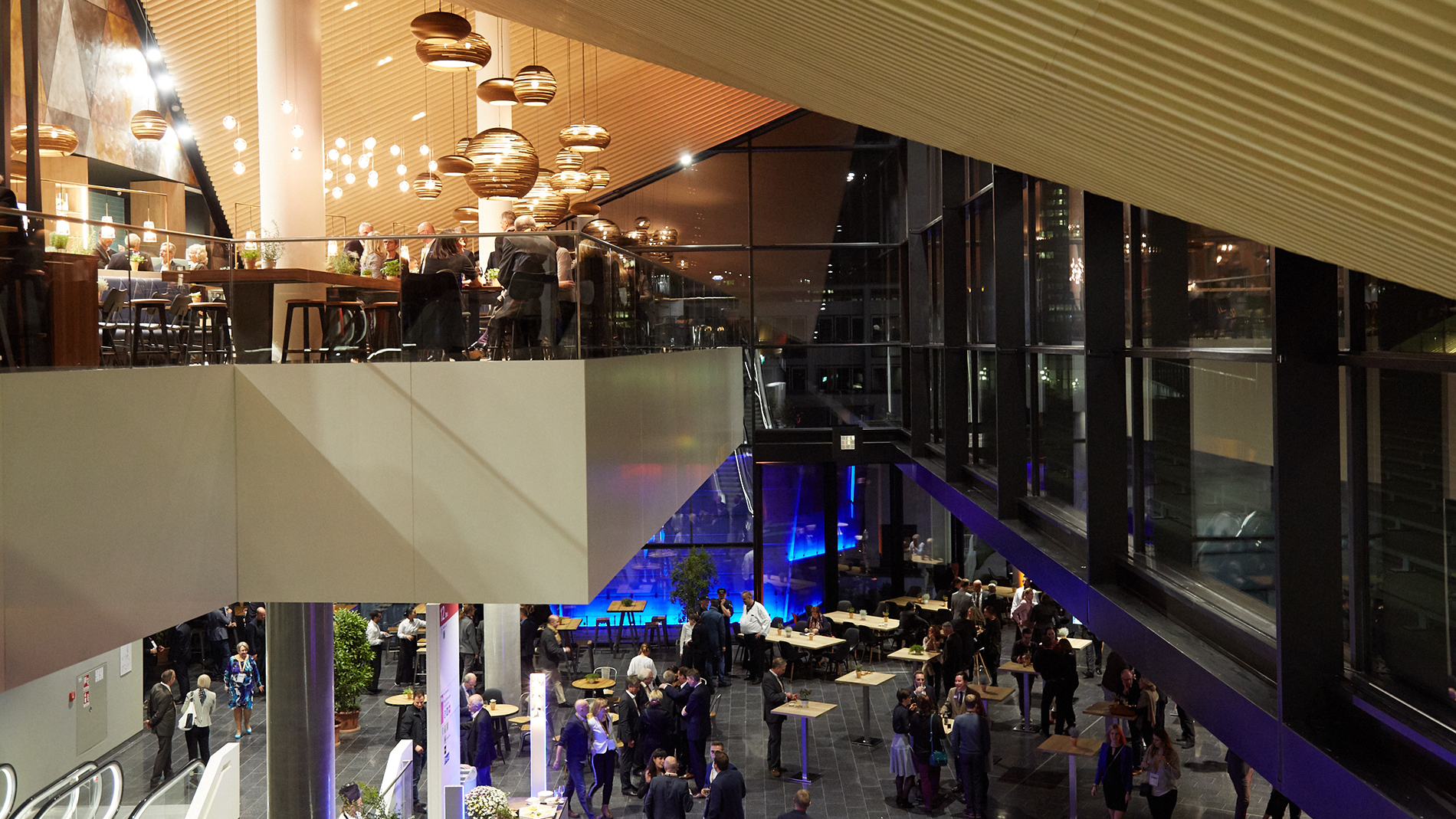 Hall 12, restaurant and foyer (Source: Messe Frankfurt)