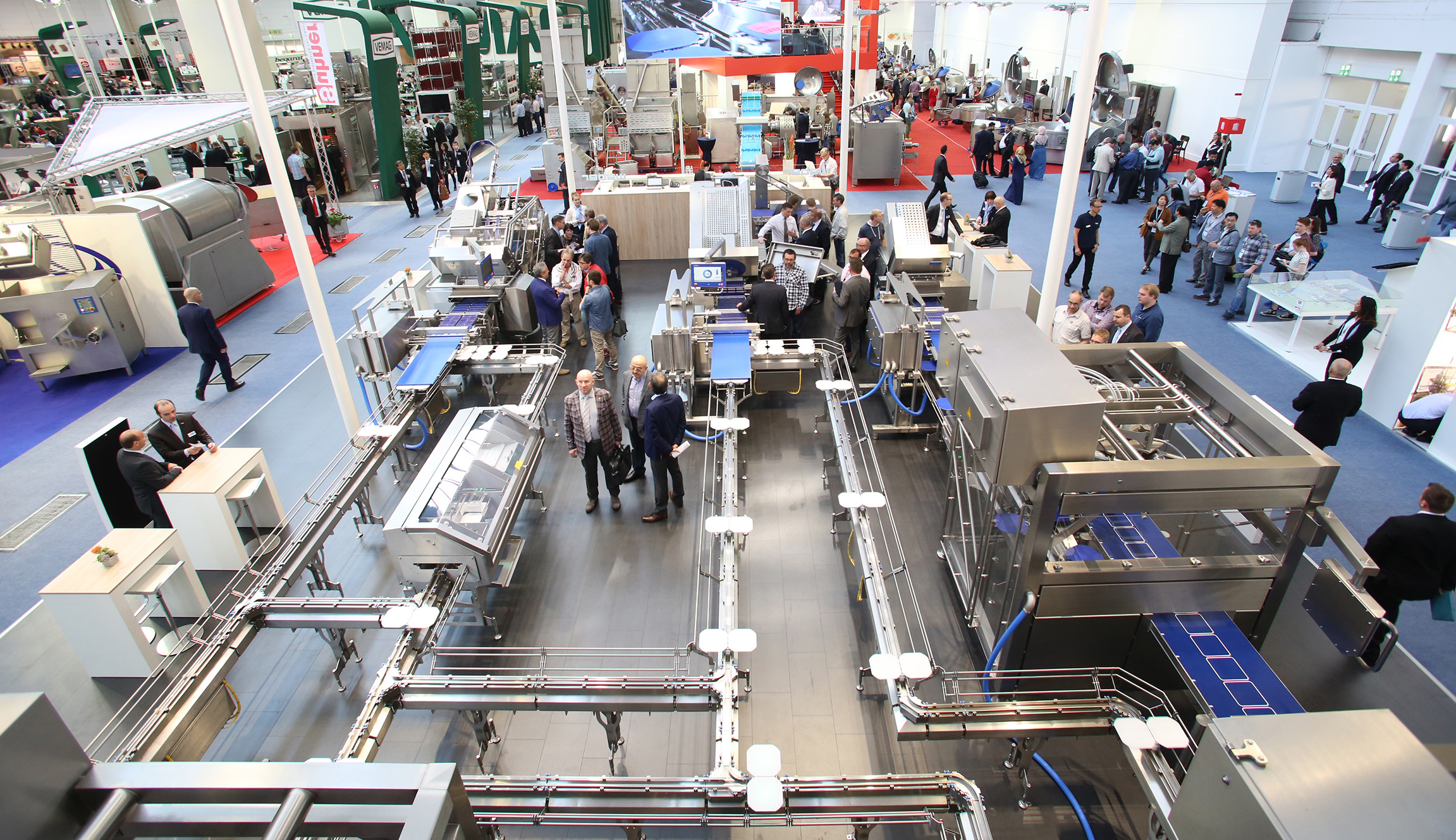 Processing machines in Hall 8