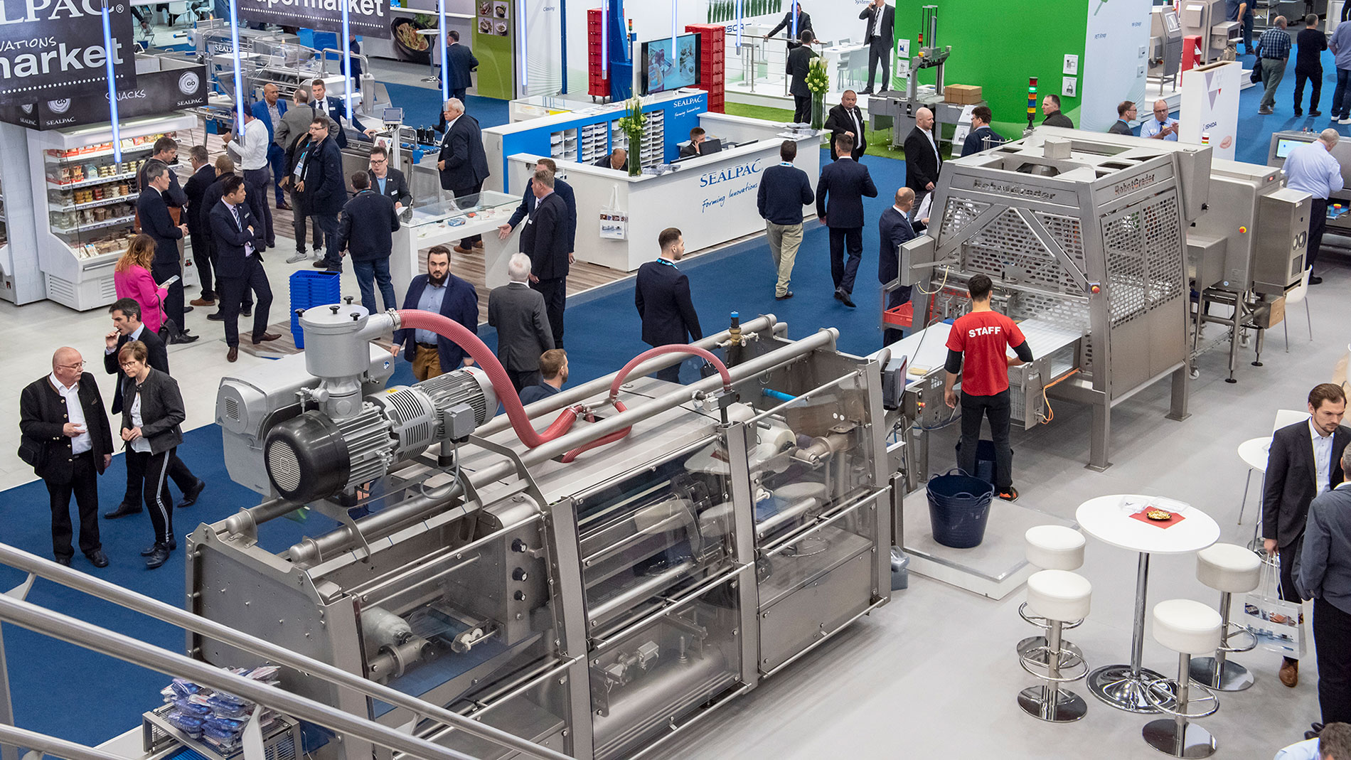 Visitors and exhibitors of IFFA