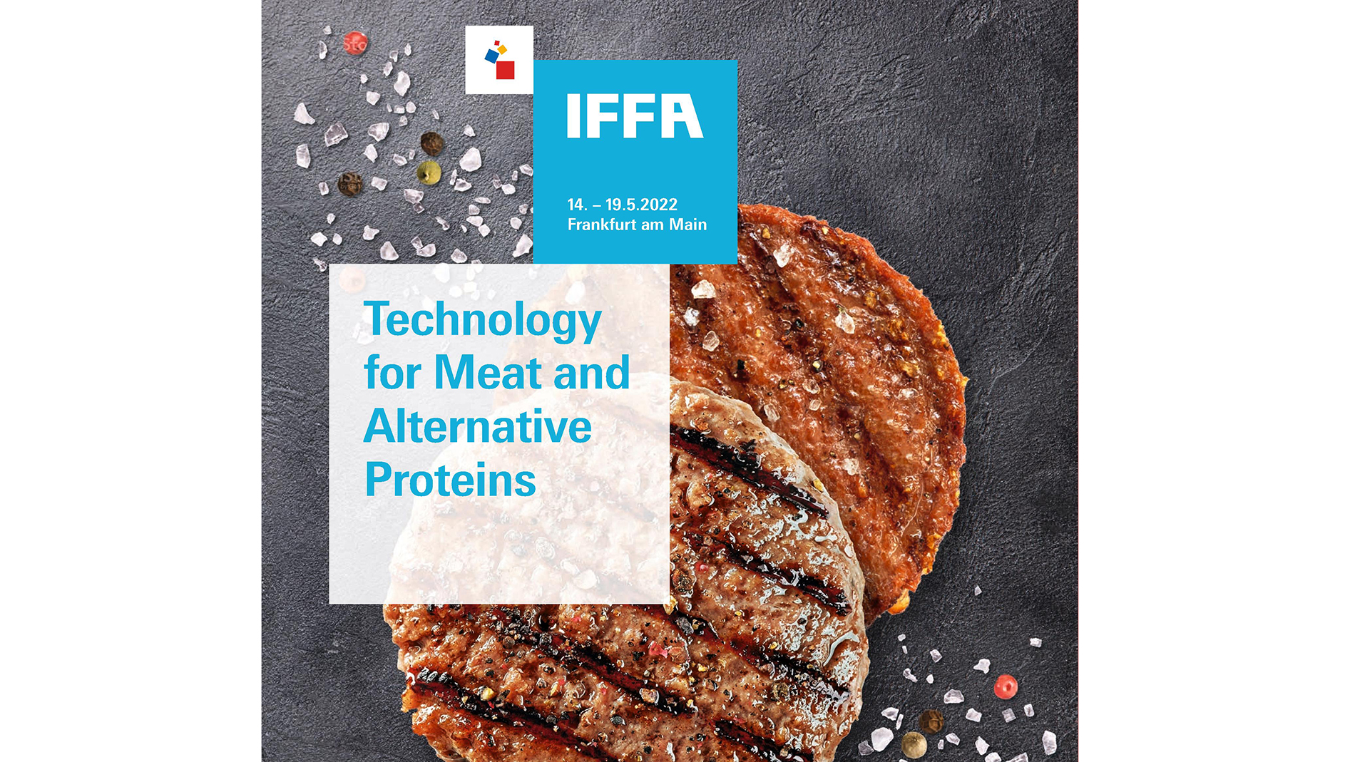 The new key visual for IFFA 2022 (Source: Messe Frankfurt Exhibition GmbH)
